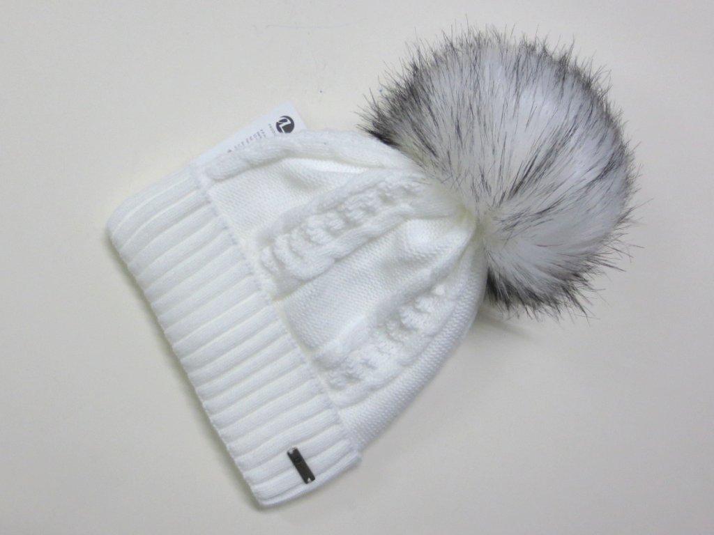 468acbd0e Dámska čiapka na zimu- biela
