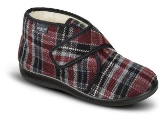 ab1bb360dfa3 Dámske celé papuče na suchý zips empty